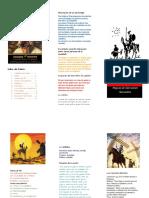 folleto don quijote capitulo 3