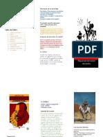 folleto don quijote capitulo 8