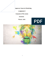 Consumer Research and Marketing
