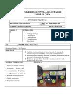 Informe Elementos Ohmicos y No Ohmicos Editado