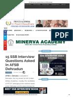 15 SSB Interview Questions Asked In AFSB Dehradun.pdf