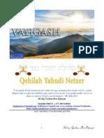 Parashat Vayigash # 11 Adul 6018