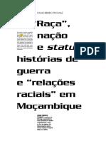Thomaz, Omar. Raça, Nação e Status Editado