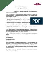 Banco de Reactivos de Psicologia Del Desarrollo Infantil