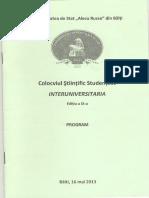 Interuniversitaria Program
