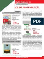 Pliant Matematica 2015