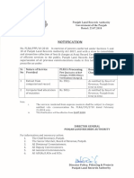 2018-07-24 - Notification of PLRA Processing Fee