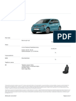 Oferta VW e Up! 11 Octombrie 2017