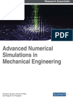 Advance Numerical Mechanical Simulation