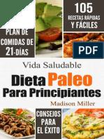 Madison Miller Dieta Paleo Para Principiantes