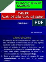CAP VI PLAN DE RRHH
