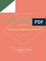 Duolingo German Vocabulary ThatWolfieFeelling v3(1)