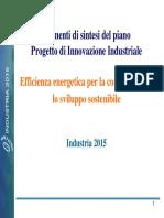 Presentazione Ing. Pistorio 24-11-2007