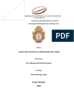 ACCION DEL FLUORUROS EN LA PREVENCION DE CARIES .pdf