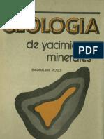 Geologia de Yacimientos Minerales_Smirnov