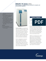 PowerwareFerrups Brochure, FE Series 50hz