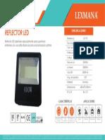 Reflector LED LG718 400W
