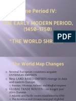 Period IV Overview