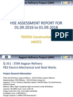 Hse Assessment Report