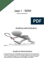 Clase 1 - Semi Audit. Adm.