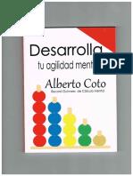 Desarrolla Tu Agilidad Mental - Alberto Coto Garcia