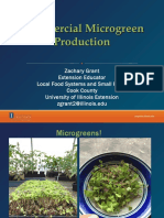 Integrating Microgreens Production Into Your Operation Grant