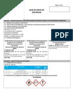 Hoja de datos de seguridad acido formico SGA