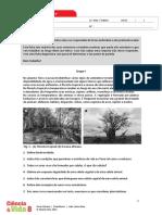 Ficha Diagnóstico CN 8º ano