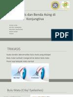 TRIKIASIS & BENDA ASING KONJUNGTIVA222222.pptx