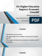 Do Higher Education Improve Economic Growth 2