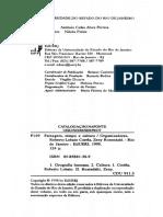 128051432 CORREA Roberto Lobato ROSENDAHL Zeny Apresentando Leitura Sobre Paisagem Tempo e Cultura