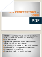 Les Professions –Jobs