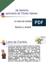 Letra de Cambio Modelo