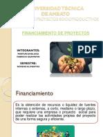Financiamiento en Proyectos