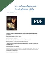 Zee Griston e o Poder Restaurado-Thalys Eduardo Barbosa-Billy Ventura