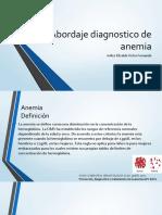 Abordaje Diagnostico de Anemia