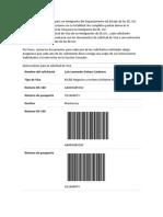 Instrucciones CSRA Visa