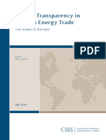 Smith_2010 - Lack of Transparency in Russian Energy Trade; The Risks to Europe