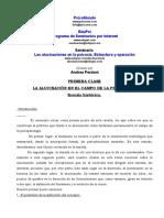 Andrea Perdoni - Las Alucinaciones en La Psicosis (Clase 1)