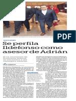 07-12-18 Se perfila Ildefonso como asesor de Adrián