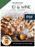 Food&Wine Classic 2018