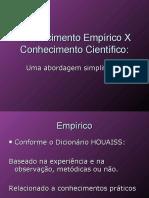 Conhecimento Empirico x Conhecimento Cientifico 1203763410604507 3