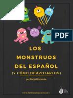 Los Monstruos Del Español
