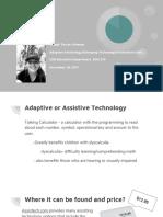adaptive or assistive technology
