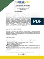 Instructivo Taller Práctico Opm 2018