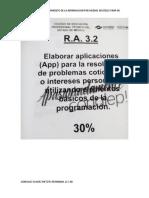 ASIGNACIONES  RA 3.2