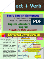 0A Intro- Basic Sentences