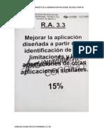 ASIGNACIONES RA 3.3