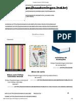 Produtos Impressos _ São Domingos