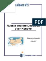 antonenko_2007_Russia and the Deadlock over Kosovo.pdf